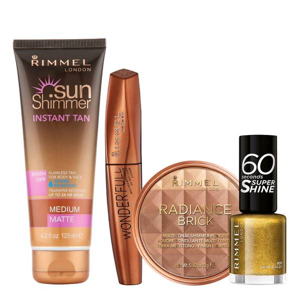 Rimmel Bronze Beauty Bundle