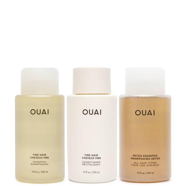 OUAI Fine Hair Detox Bundle