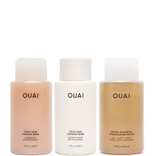 OUAI Thick Hair Detox Bundle
