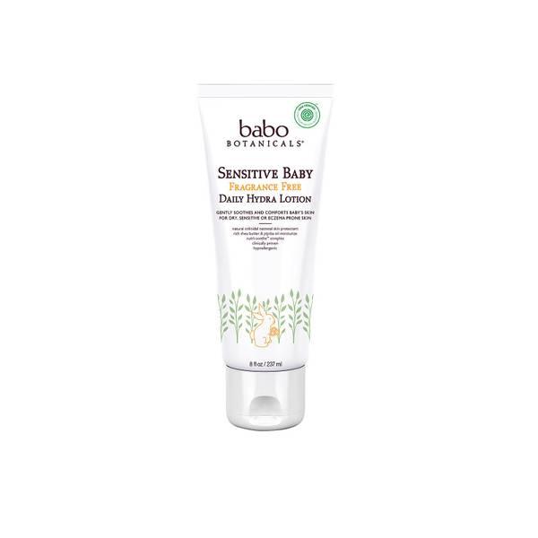 Babo Botanicals Sensitive Baby Fragrance Free Daily Hydra Lotion