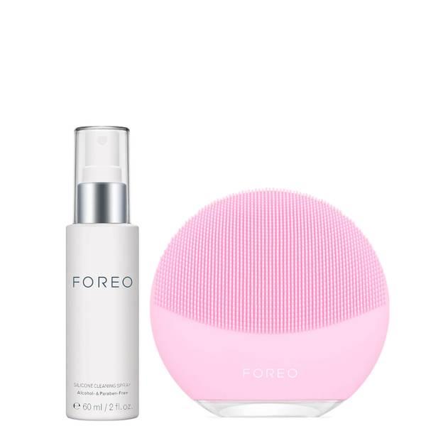 FOREO Luna mini 3 + Silicone Cleaning Spray Bundle