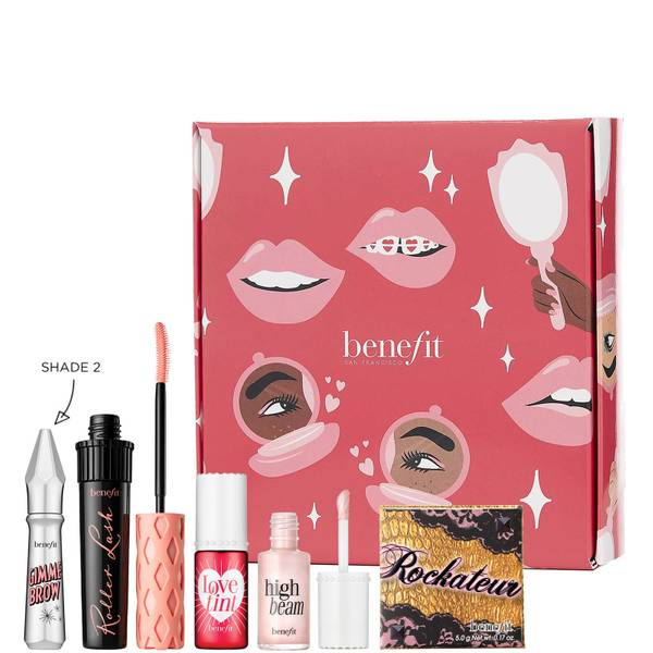 benefit Rock, Roll & Glow! Full Face Kit (Various Shades) (Worth £103.00)