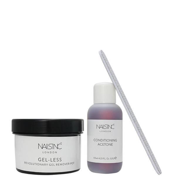 nails inc. Gel-Less Remover Pot