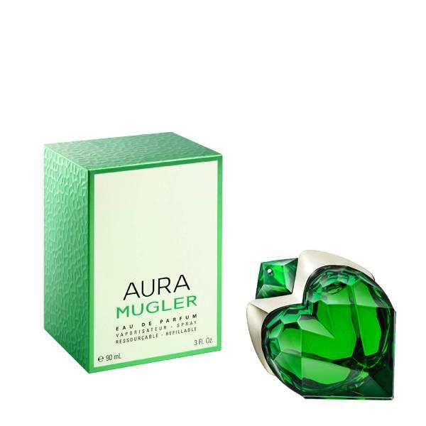 MUGLER Aura Mugler Eau de Parfum Refillable Spray (Various Sizes)