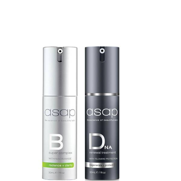 asap Super B + DNA Renewal Treatment Serum Pack