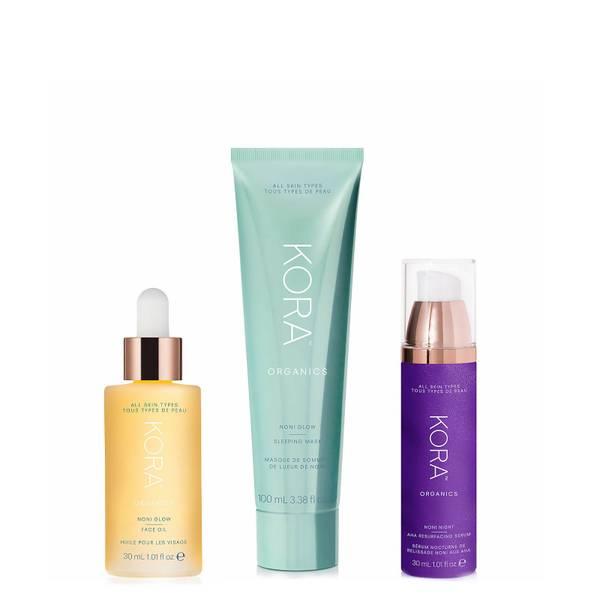 Kora Organics Glowing Skin Overnight Set