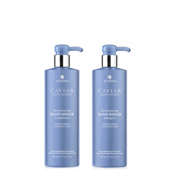 Alterna Caviar Restructuring Bond Repair Supersize Shampoo and Conditioner