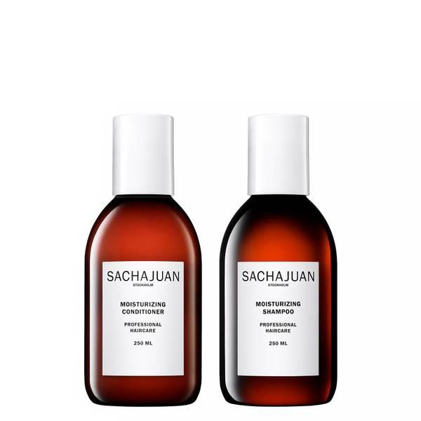 Sachajuan Moisturizing Shampoo and Conditioner (2 x 250ml)