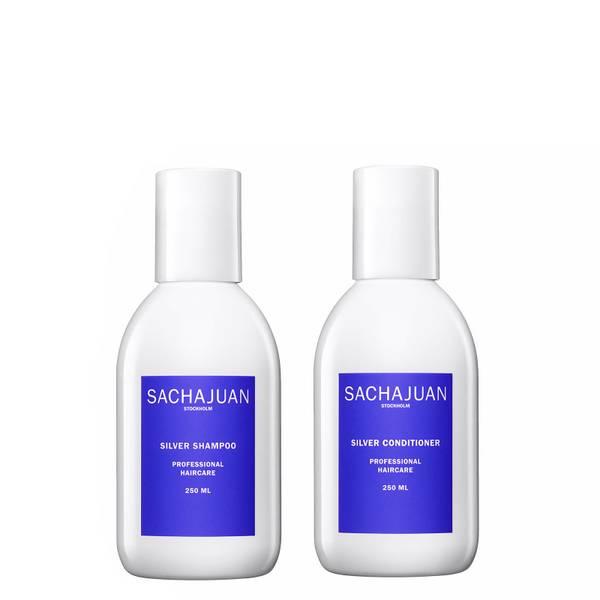 Sachajuan Silver Shampoo and Conditioner (2 x 250ml)