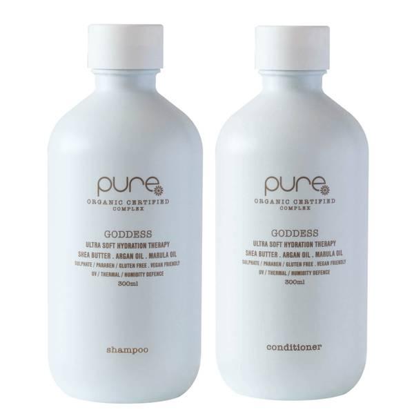 Pure Goddess Shampoo and Conditioner (2 x 300ml)