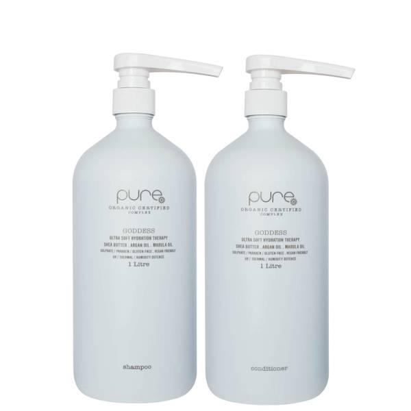 Pure Goddess Supersize Shampoo and Conditioner (2 x 1000ml)