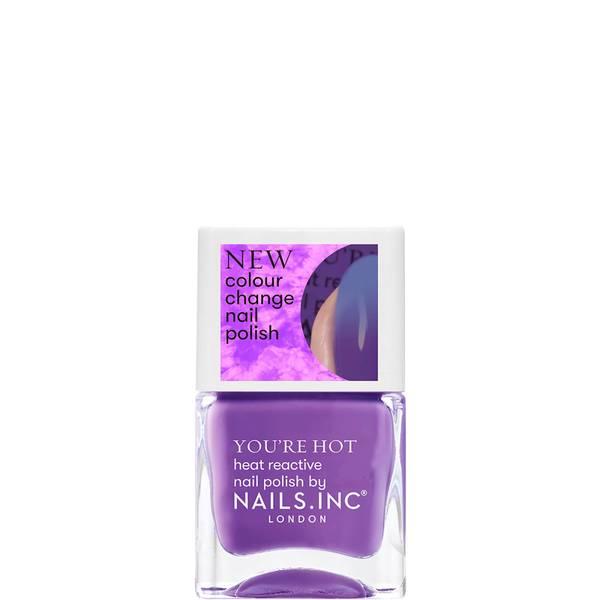 nails inc. Feel The Hotness Thermochromic Polish