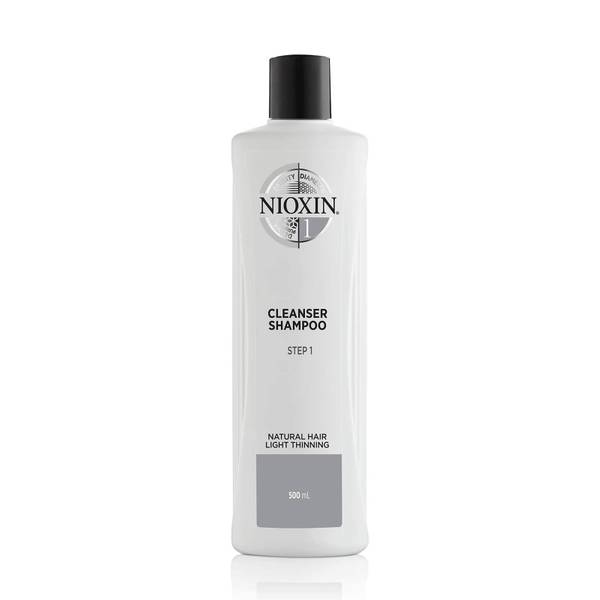 Nioxin System 2 Cleanser Shampoo for Natural Hair with Progressed Thinning 16.9 oz