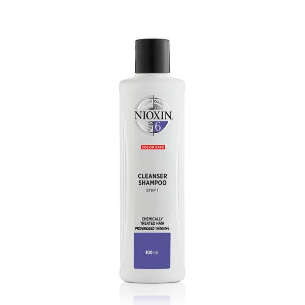 Nioxin Cleanser Shampoo System 6 for Chemically Treated Hair with Progressed Thinning