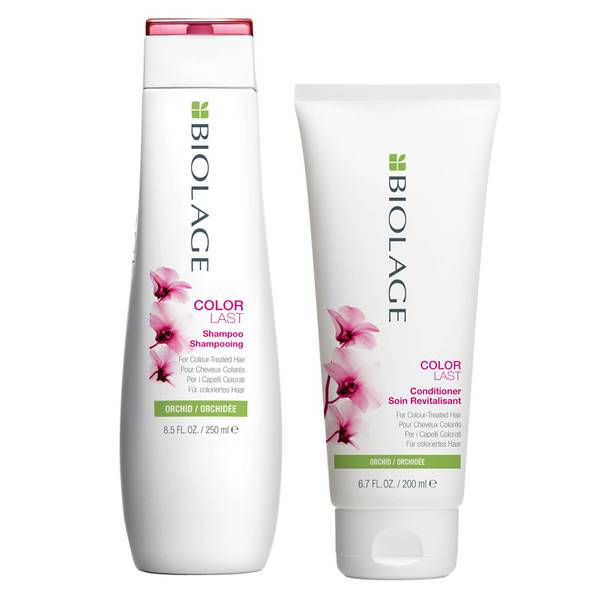 Biolage ColorLast Colour Protecting Shampoo (250ml) and Conditioner (200ml) Duo Set for Coloured Hair