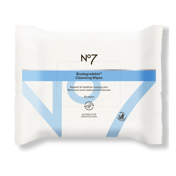 Biodegradeable Cleansing Wipes 30S