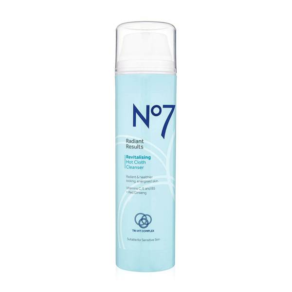 Radiant Results Revitalising Hot Cloth Cleanser 200ml