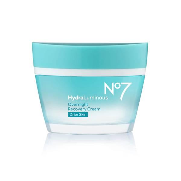 HydraLuminous Overnight Recovery Cream Drier Skin 50ml