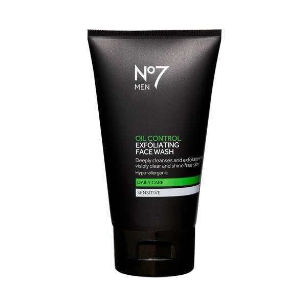 Men Oil Control Exfoliating Face Wash 150ml
