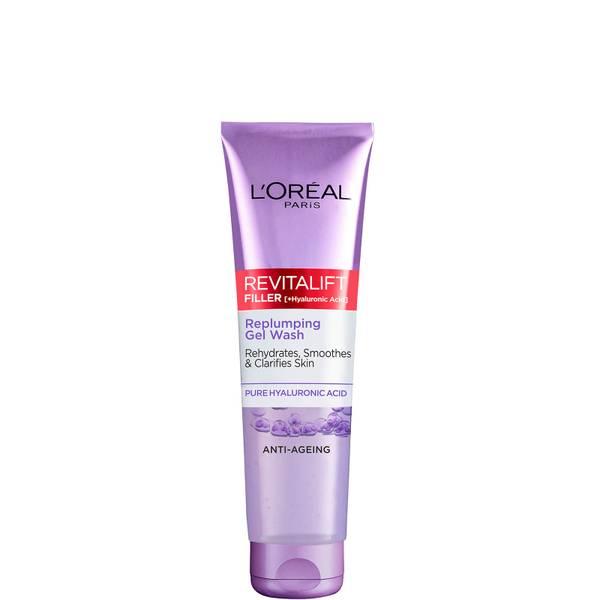 L'Oréal Paris Revitalift Filler [+ Hyaluronic Acid] Gel Face Wash Cleanser 150ml