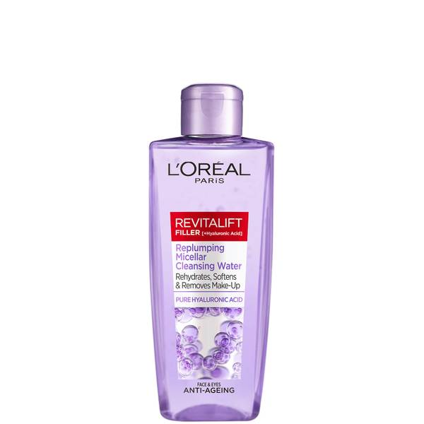 L'Oréal Paris Revitalift Filler [+ Hyaluronic Acid] Cleansing Micellar Water 200ml