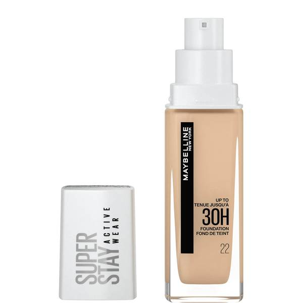 Maybelline Superstay Active Wear Full Coverage 30H Liquid Foundation with Hyaluronic Acid 30ml