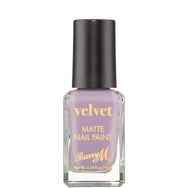 Barry M Cosmetics Matte Velvet Nail Paint 10ml (Various Shades)