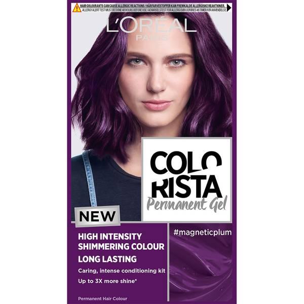 L'Oréal Paris Colorista Magnetic Long-Lasting Permanent Hair Dye Gel 1ml (Various Shades)