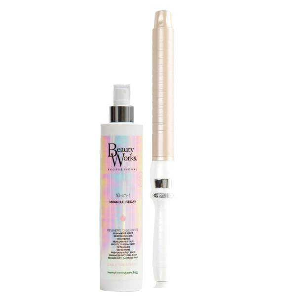 Beauty Works Styler and Miracle Spray Bundle