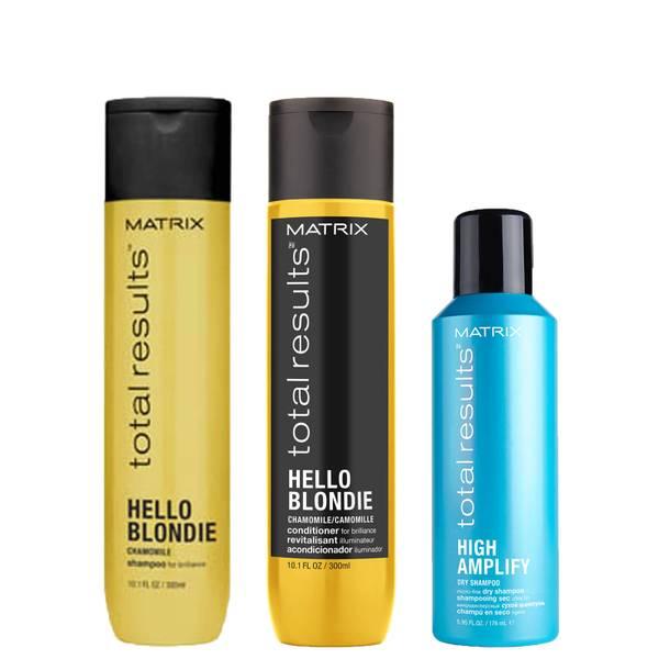Matrix Hello Blondie Trio