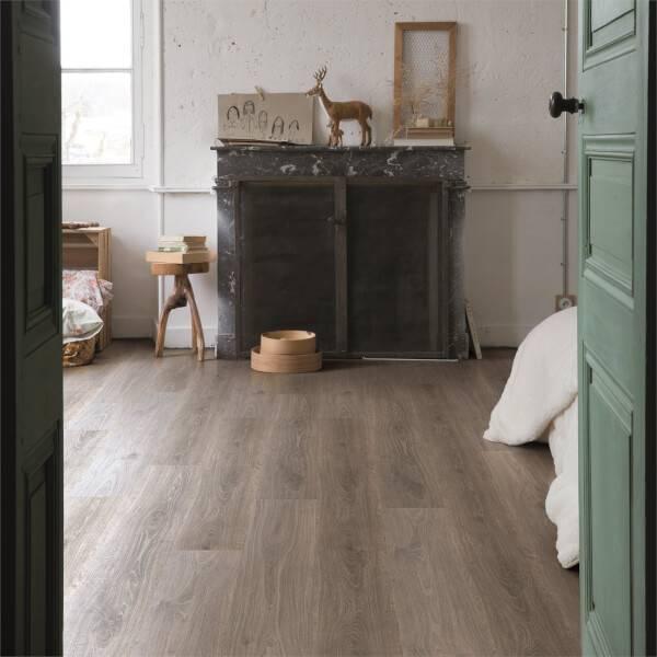 Quick Step Pensthorpe Oak Waterproof, Zebrano Laminate Flooring Homebase
