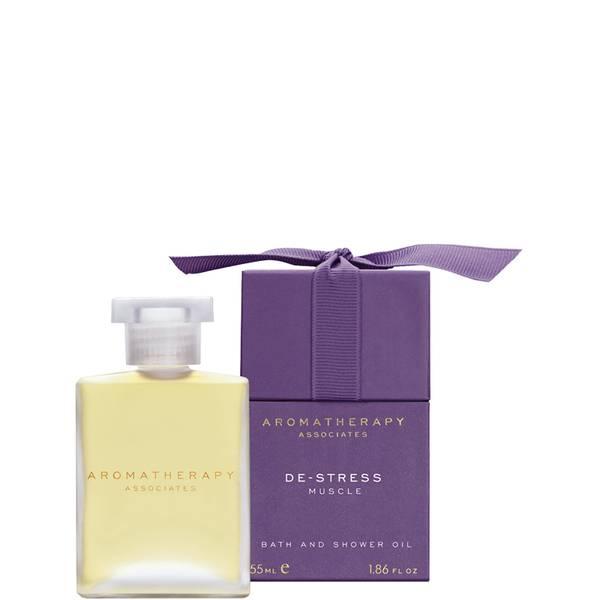 Aromatherapy Associates De-Stress Muscle Bath & Shower Oil 55ml