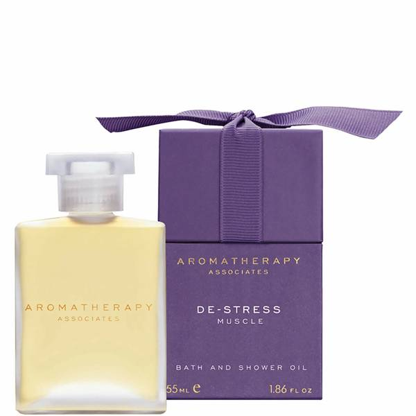 Aromatherapy Associates De-Stress Muscle Bath & Shower Oil (55ml)
