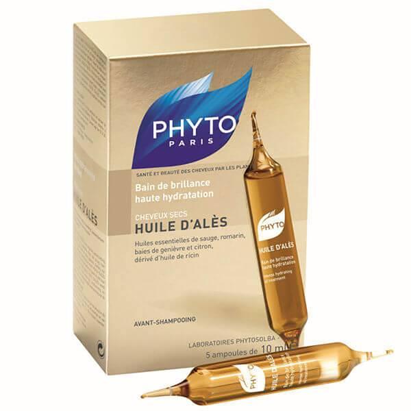 Tratamiento intenso de aceite hidratanteHuile D'Ales de phyto(5 x 10 ml)