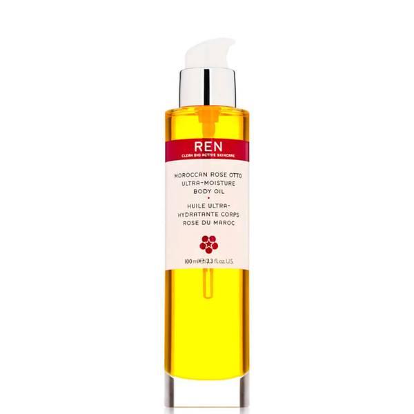 REN Moroccan Rose Otto Ultra-Moisture Body Oil (レン モロッカン ローズ オットー ウルトラ モイスチャー ボディー オイル)