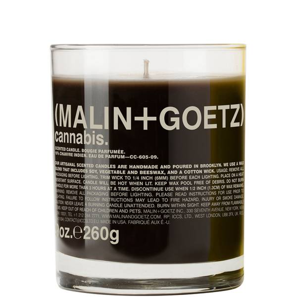 Malin + Goetz Cannabis Scented Candle 260g
