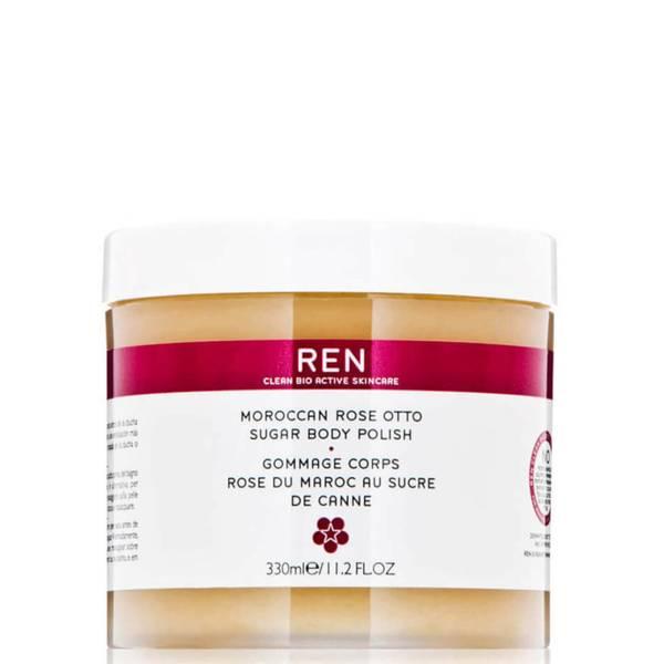 REN Clean Skincare Moroccan Rose Otto Sugar Body Polish 330ml