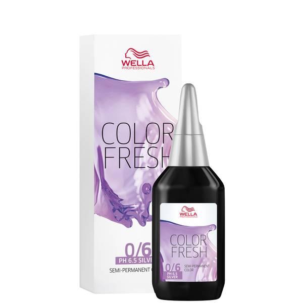 Coloration semi-permanente WELLA COLOR FRESH SILVER - VIOLET 0.6 (75ml)