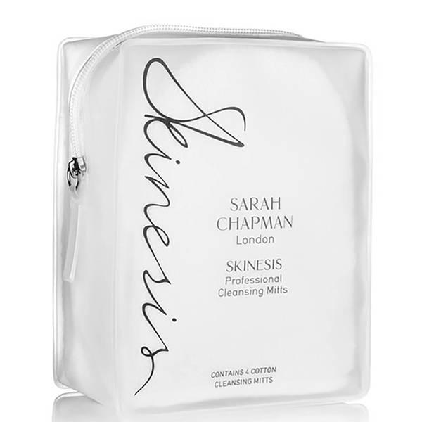 Sarah Chapman Skinesis Professional Cleansing Mitts x 4