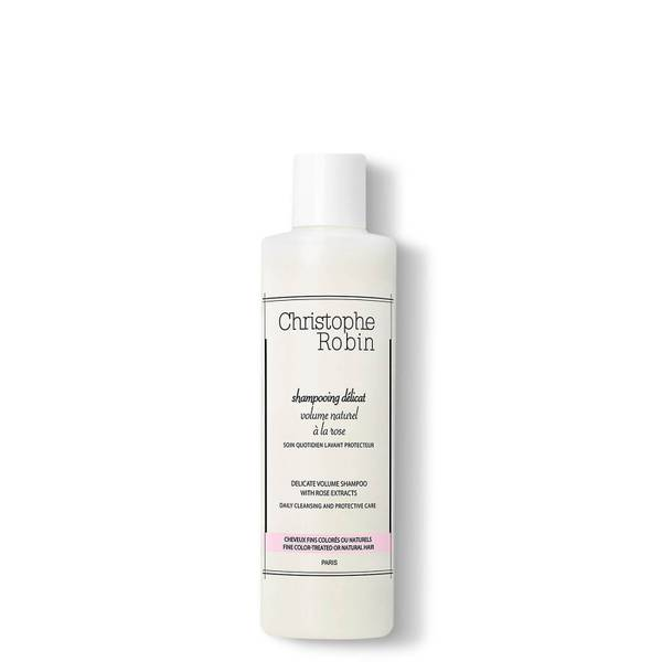 Shampooing délicat volume naturel à la rose de Christophe Robin (250ml)