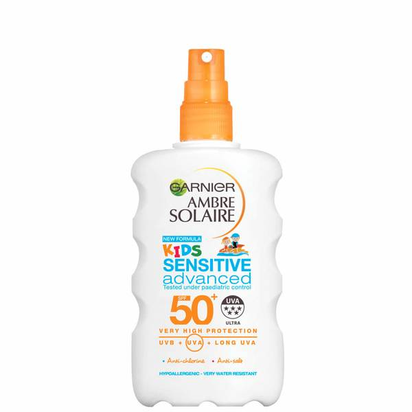 Garnier Ambre Solaire Kids Sensitive Sun Cream Spray SPF 50+ 200ml