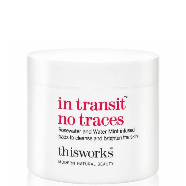 this works in Transit No Traces waciki do oczyszczania skóry wrażliwej (60 wacików)