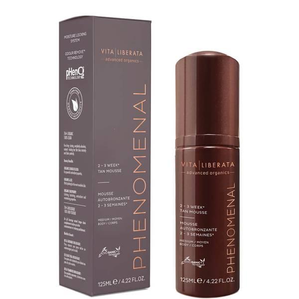 Vita Liberata pHenomenal 2-3 Week Tan -itseruskettava vaahto, 125ml, Medium
