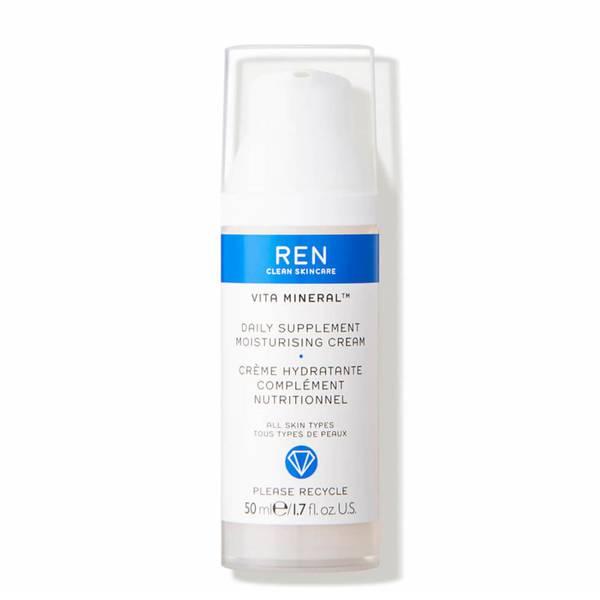 REN Clean Skincare Vita Mineral Daily Supplement Moisturising Cream 50ml