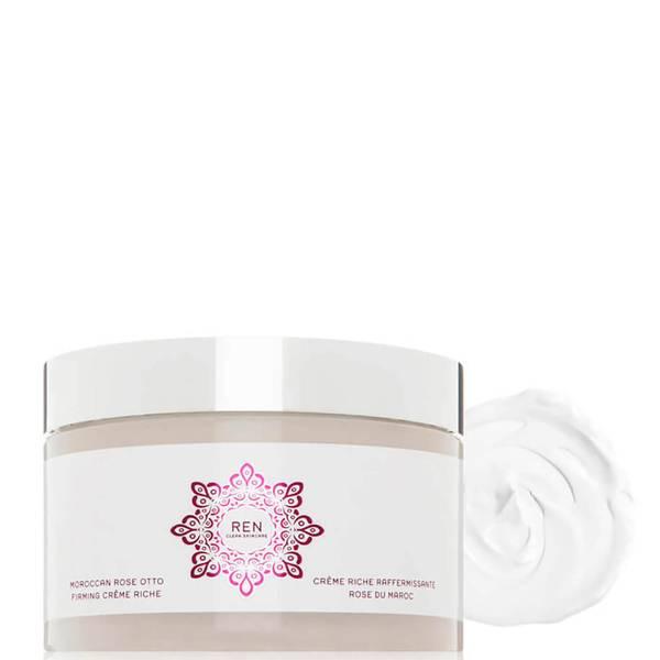 REN Clean Skincare Moroccan Rose Otto Firming Creme Riche (6.8 fl. oz.)