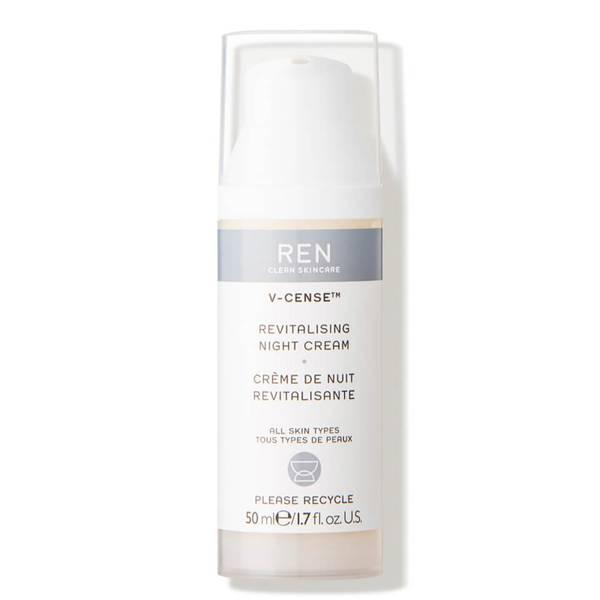 REN Clean Skincare V-Cense Revitalising Night Cream 50ml
