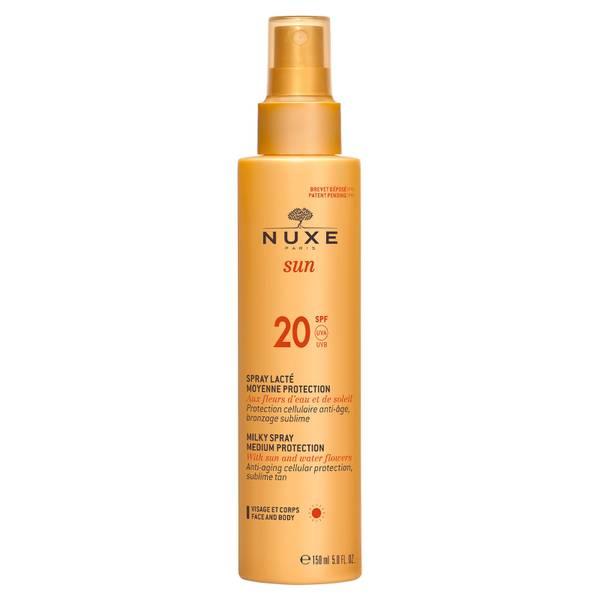 NUXE Sun Milky Spray Face and Body SPF 20 (150ml) - Exclusive