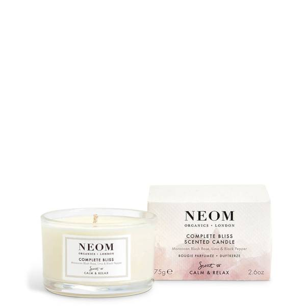 NEOM OrganicsCompleteBliss TravelBougie parfumée