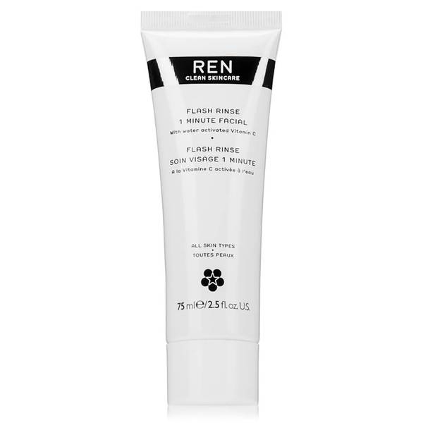 REN Clean Skincare Flash Rinse 1 Minute Facial (2.5 fl. oz.)