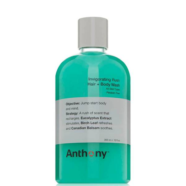 Anthony Invigorating Rush Hair and Body Wash (12 oz.)
